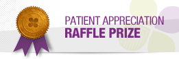 Patient Appreciation Raffle Logo